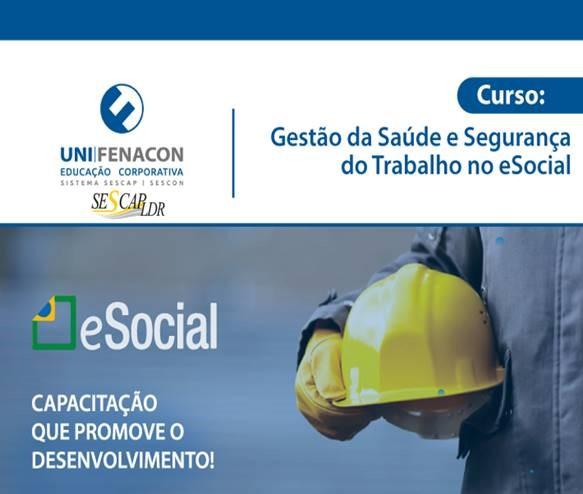 EAD - Gestão da Saúde e Segurança do Trabalho no eSocial