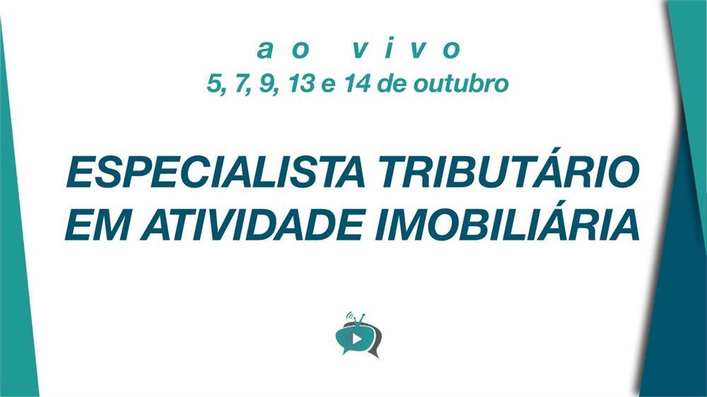 EAD - ESPECIALISTA TRIBUTÁRIO EM ATIVIDADE IMOBILIÁRIA