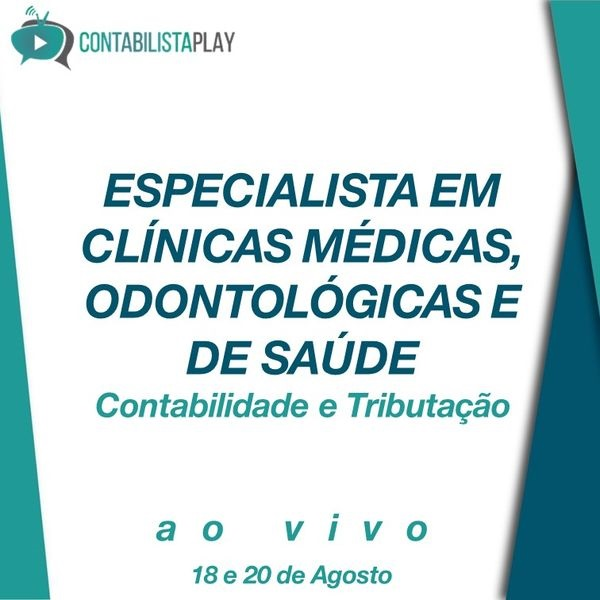 EAD - ESPECIALISTA EM CLÍNICAS MÉDICAS, ODONTOLÓGICAS E DE SAÚDE
