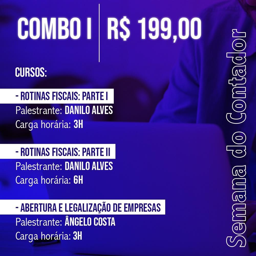 SEMANA DO CONTADOR - COMBO ESPECIAL I