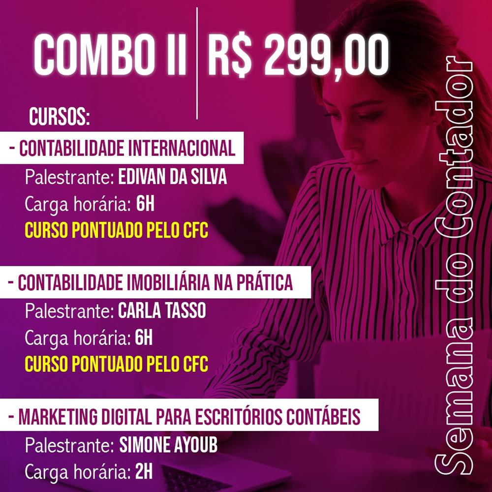 EAD - SEMANA DO CONTADOR - COMBO ESPECIAL II