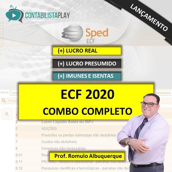 EAD - ECF 2020 - COMBO 3 CURSOS EM 1