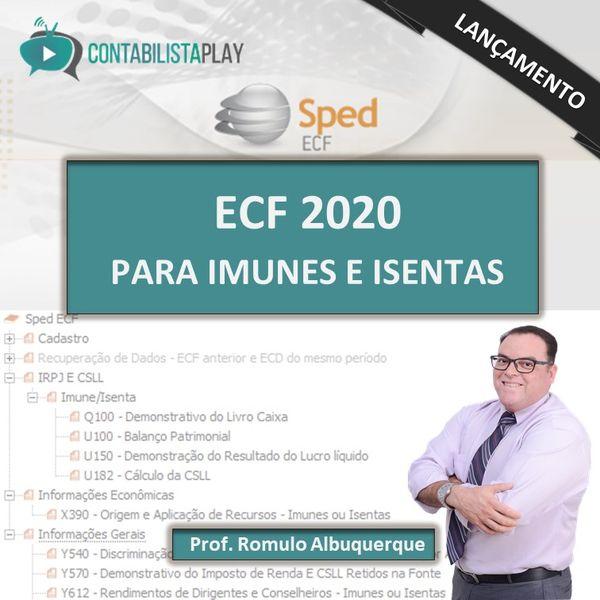EAD - ECF 2020 - EXCLUSIVO ENTIDADES IMUNES/ISENTAS