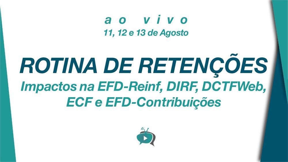 EAD - ROTINA DE RETENÇÕES