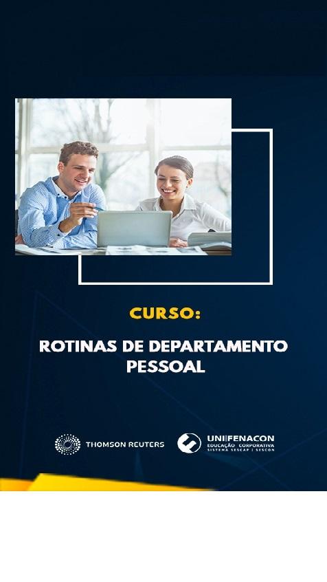 EAD - ROTINAS DE DEPARTAMENTO PESSOAL