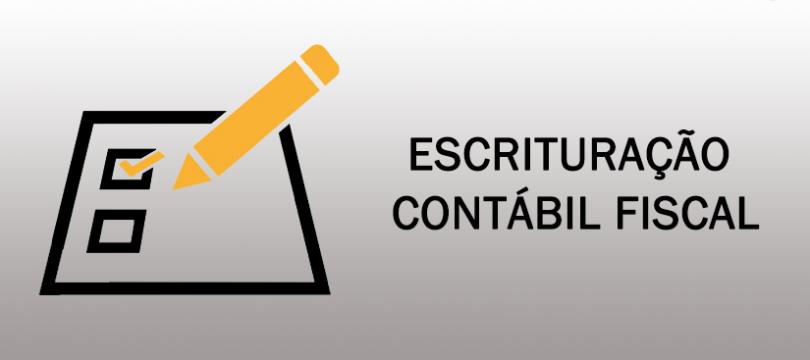 Escrituração Contábil Fiscal - ECF