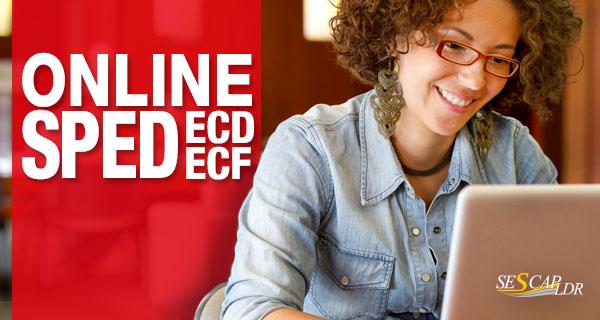 ECF-Escrituração Contábil Fiscal 2016 a partir da Recuperação de Dados da ECD - (ON LINE)