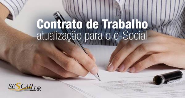 Contrato de Trabalho (atualização para o e-Social) com Estudos de Caso e Exercícios Práticos