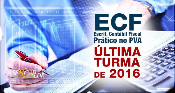 ECF - (v.2.x) Prático no PVA  (presumido, real e imunes/isentas) 2ª Turma