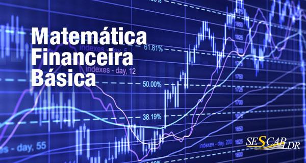 CONFIRMADO! Matemática Financeira Básica