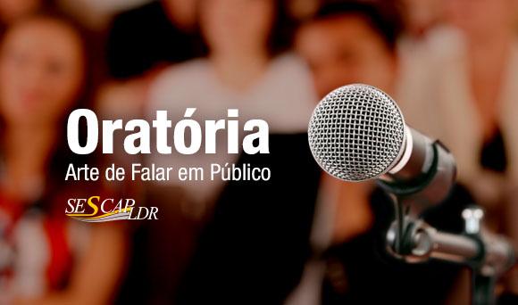 Curso de Oratória -  Arte de Falar em Público (NOVAS DATAS)