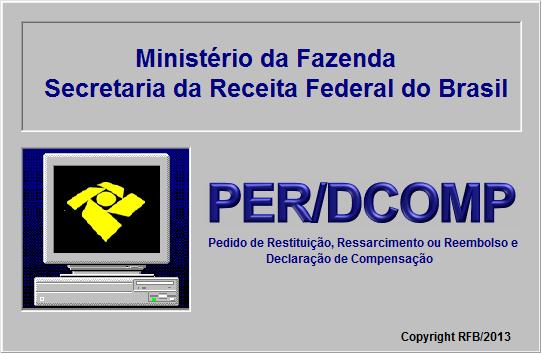 08 PONTOS CRC,  Perdcomp - Declaração de Compensação  -PER -DCOMP WEB