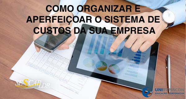 Como Organizar e Aperfeiçoar o Sistema de Custos da Sua Empresa - (Vídeo Aula)