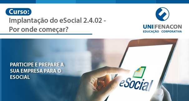 Curso: Implantação do E-social  Unifenacon -Link