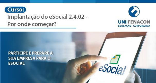 Curso: Implantação do E-social  Unifenacon -Link