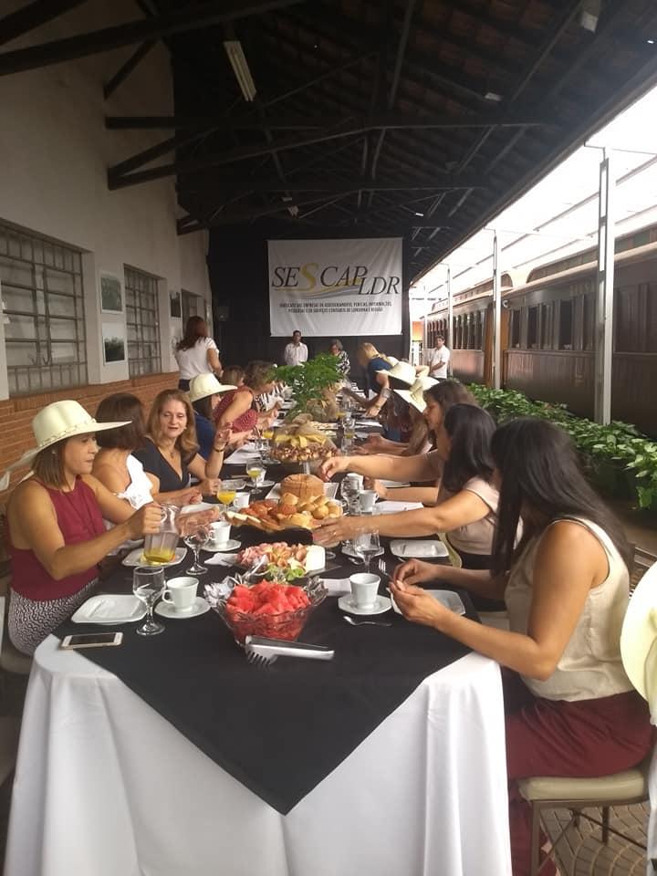 Café da Mulher Empresária Sescap-Ldr 2019
