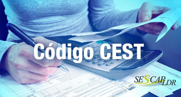 Código CEST deverá ser informado na nota a partir de 01 de abril de 2016