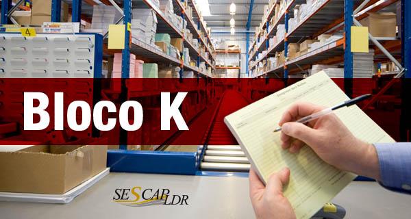 Bloco K (EFD ICMS/IPI) pela UNIFENACON