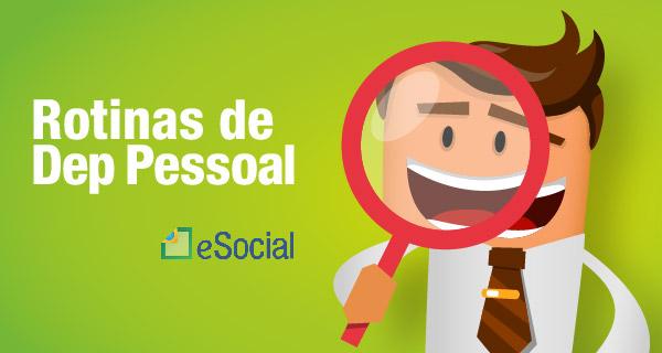 CURSO Rotinas Práticas de Departamento Pessoal com Ênfase no e-Social - Avançado