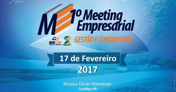 Inscrições abertas para o 1º Meeting Empresarial – Gestão e Consultoria